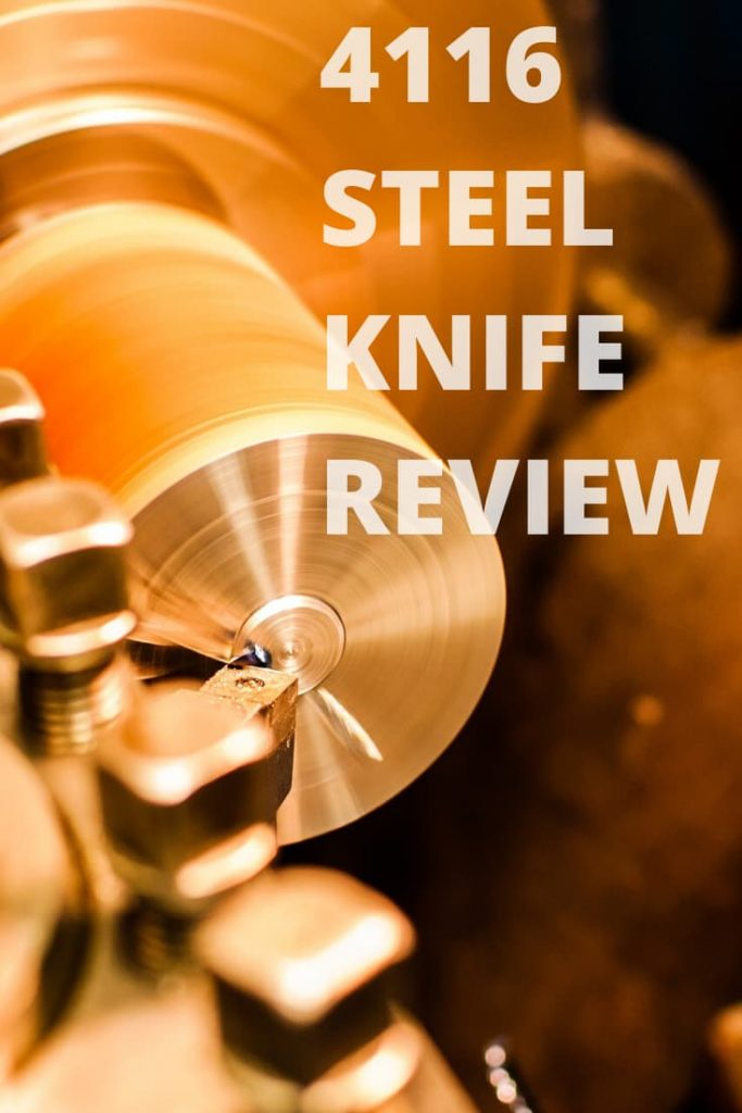 4116 stainless steel review