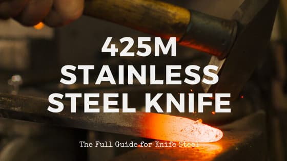 425m stainless steel knife