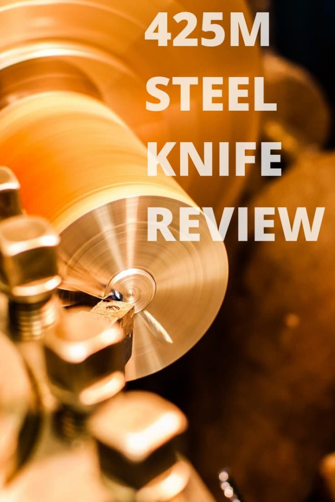 425m stainless steel knife review